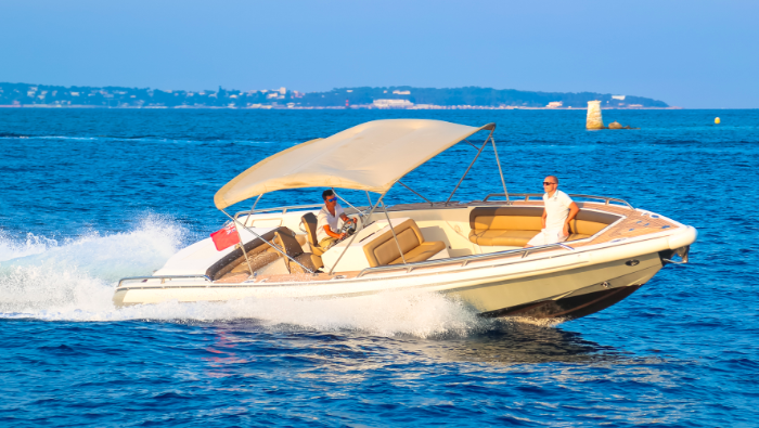 Fast boat available for transfer or day charter