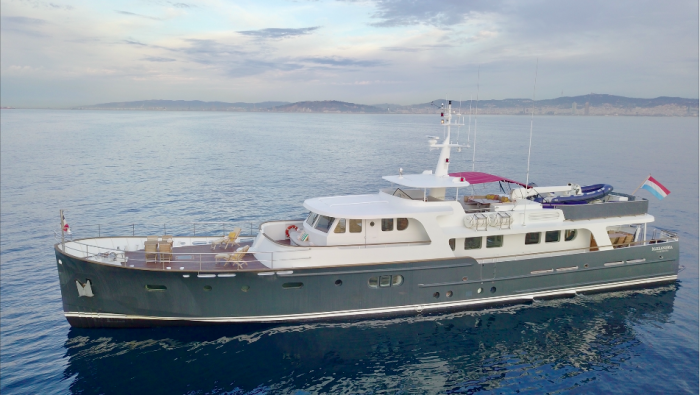Discover ALEXANDRIA, available for charter